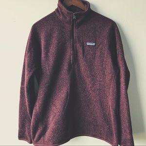 Patagonia W's Better Sweater 1/4 Zip Dark Currant